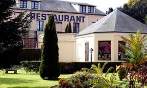Auberge du Bois Saint-Jacques: Menu en 3 temps pour 2 personnes à 29,90 € au restaurant l'Auberge du Bois Saint-Jacques