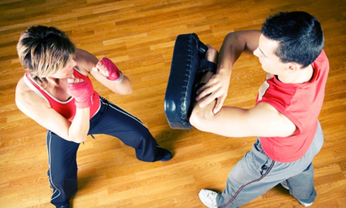 Master Pagano's Red Dragon Martial Arts - Chadds Ford: 10 or 20 Kickboxing or Karate Classes at Master Pagano's Red Dragon Martial Arts (Up to 75% Off)