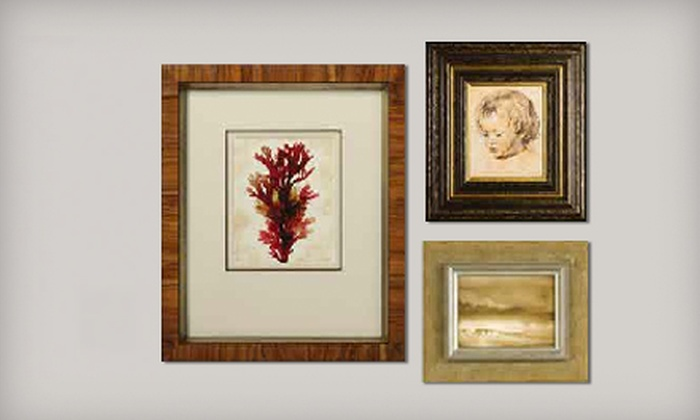 Framing & Art Centre - Multiple Locations: $45 for $100 Worth of Custom Framing at Framing & Art Centre