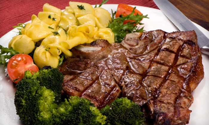 Cafe Royal - Central Business District,Downtown Mobile: Steak-House Cuisine and Drinks at Cafe Royal (Half Off). Two Options Available.