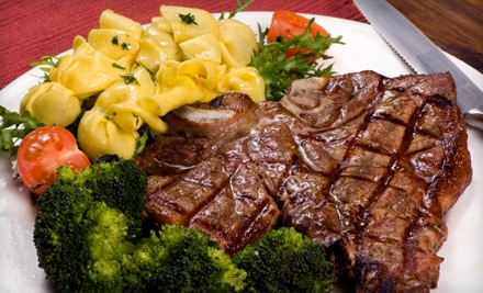 $50 Groupon for Steak-House Cuisine and Drinks  - Cafe Royal in Mobile