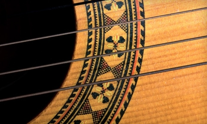 Quinton Mosley - Knoxville: $25 for Four Guitar Lessons from Quinton Mosley ($80 Value)