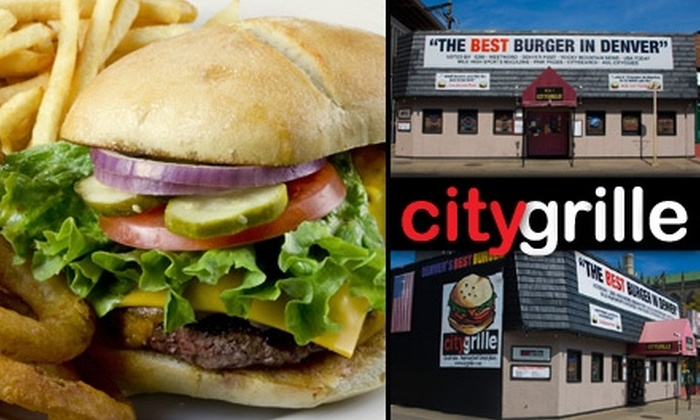 CityGrille - Uptown: $10 for $20 Worth of Burgers, French Fries, and American Fare at CityGrille