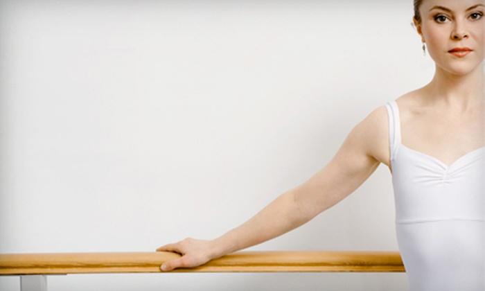 Balanced Barre & Pilates - Plymouth - Wayzata: Four or Eight Barre Classes at Balanced Barre & Pilates in Wayzata (Half Off)