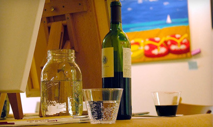 Vino's Picasso - Vino's Picasso Fort Myers: BYOB Painting Class for One or Painting Class with Wine for Two at Vino's Picasso (Up to 56% Off)