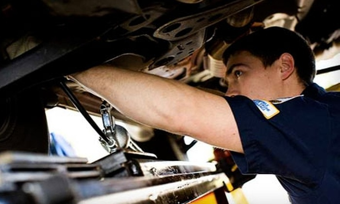 NAPA AutoCare Centers of Pioneer Valley - Multiple Locations: $45 for Two Oil Changes and a Health Check at NAPA AutoCare Centers of Pioneer Valley ($99.95 Value). Five Locations Available.