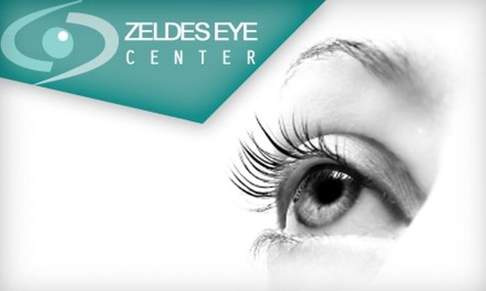 Zeldes Eye Center - West Bloomfield: Eye Exam or Latisse Eyelash Treatment from Zeldes Eye Center in West Bloomfield. Choose From Two Options.