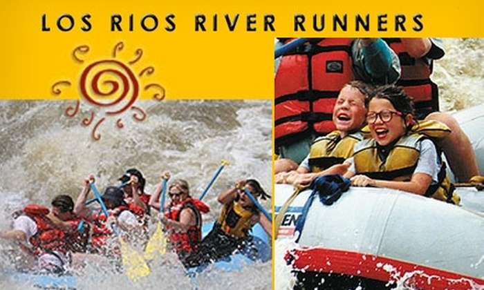 Los Rios River Runners - Taos Pueblo: $30 for a Half-Day White-Water-Rafting Adventure with Los Rios River Runners ($55 Value)