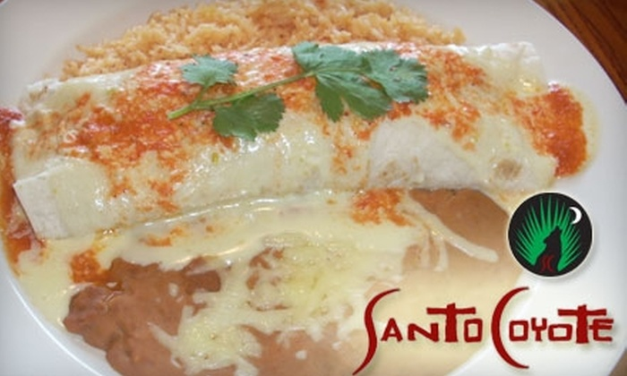 Santo Coyote - North Little Rock: $10 for $25 Worth of Tapas, Tacos and More at Santo Coyote