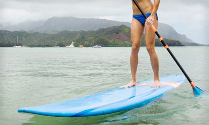 Island Water Sports - Ocean Vue: $25 for a Guided Sunset-Paddle-and-Eco Tour from Island Water Sports ($50 Value)