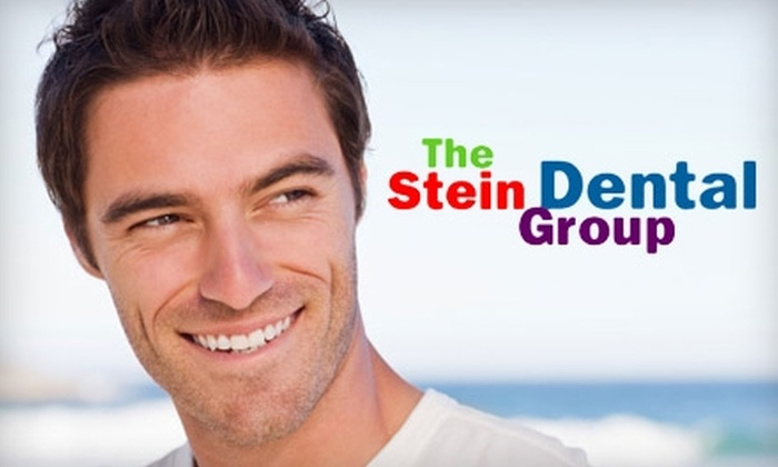 The Stein Dental Group - Springdale - Glenbrook - Belltown: $149 for a Zoom Teeth Whitening Treatment ($450 Value) or $59 for a Dental Exam, Cleaning, and X-Rays ($332 Value) at The Stein Dental Group