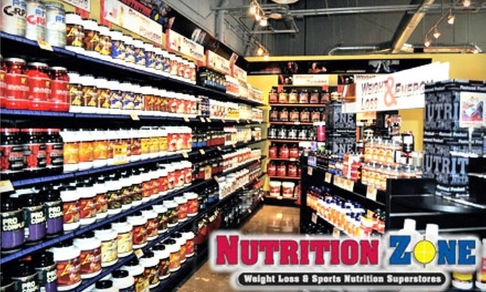 Nutrition Zone - Marina: $15 for $30 Worth of Health Products Plus One Smoothie at Nutrition Zone (Up to $36.99 Value)