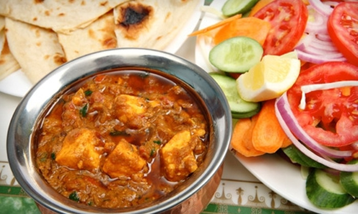 Heritage India - Multiple Locations: $15 for $30 Worth of Indian Cuisine on Friday or Saturday at Heritage India (or $12 for $25 Worth Sunday–Thursday)