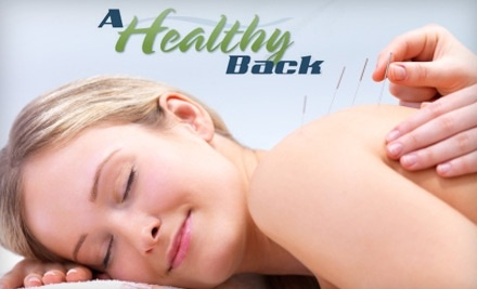 A Healthy Back - A Healthy Back in Fayetteville