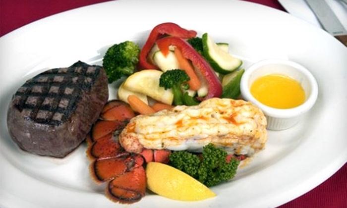 Stillwater Grill  - Okemos: Surf 'n' Turf Dinner or Lunch Fare at Stillwater Grill in Okemos
