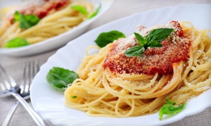 Paisanos Pasta - Fresno: $5 for $10 Worth of Italian Fare and Drinks at Paisanos Pasta