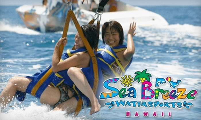 SeaBreeze - Hawaii Kai: $59 for a Standard Tandem Parasailing Ride from SeaBreeze ($118 Value)