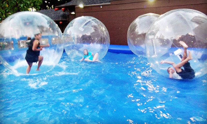 Water Ball Entertainment - Honolulu: $20 Worth of Water Amusement Rides