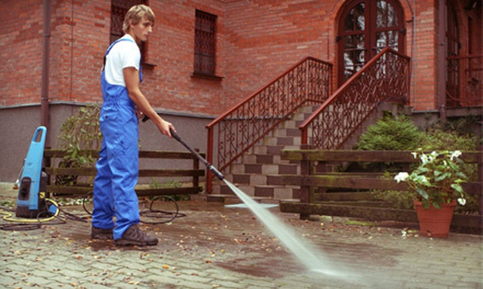 Reliable Cleaning & Janitorial Service LLC - Richmond: Power Washing or Window Cleaning from Reliable Cleaning & Janitorial Service LLC (Up to 52% Off). Three Options.