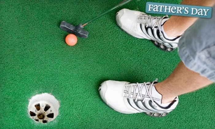 Richland Golf Center - Huntsville: $12 for Four Passes for 18 Holes of Mini Golf at Richland Golf Center (Up to $24 Value)
