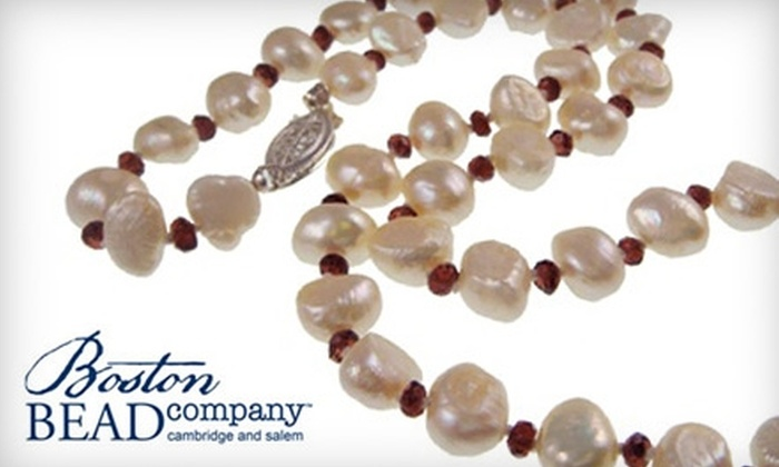 Boston Bead Company - Multiple Locations: $20 for $40 Toward Jewelry-Making Classes at Boston Bead Company