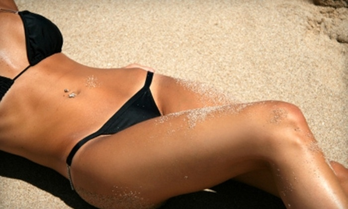 American Beauty Tan - Multiple Locations: $39 for Four Mystic Tans or 10 Tanning-Bed Sessions at American Beauty Tan