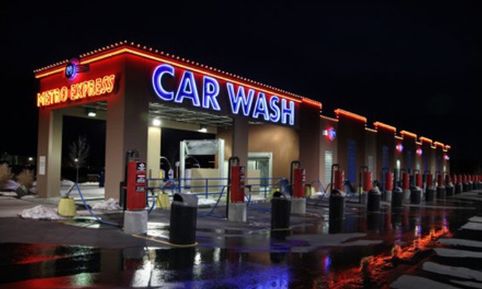 Metro Express Car Wash - Multiple Locations: $12 for Two Uptown Washes With Tire Gloss at Metro Express Car Wash ($24 Value).