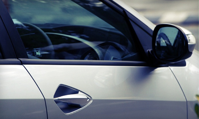 A & A Auto Glass Discounters & Body Shop - Spring Branch West: Window and Windshield Replacements at A & A Auto Glass Discounters & Body Shop (80% Off). Two Options Available.