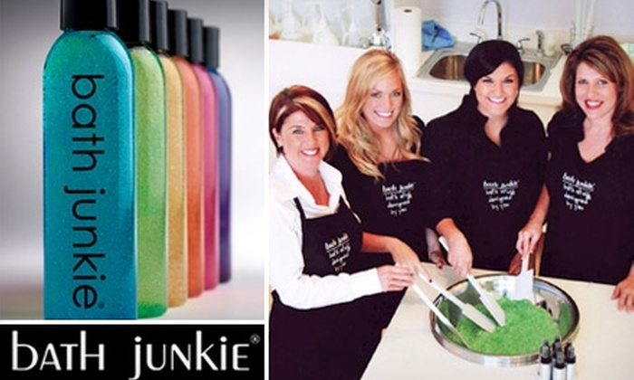 Bath Junkie DFW - University Park: $20 for $50 of Custom-Blended Lotions, Bath Crystals, and More at Bath Junkie
