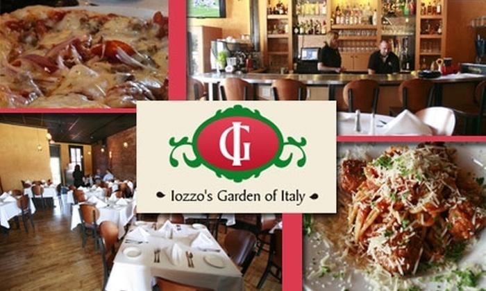 Iozzo's Garden of Italy - Babe Denny: $15 for $40 Worth of Savory Fare and Wine at Iozzo's Garden of Italy