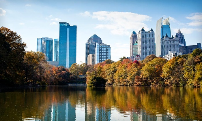 Regency Suites Hotel - Midtown: $97 for a One-Night Stay for Two at the Regency Suites Hotel in Atlanta (Up to $189 Value)