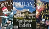 """Portland Monthly Magazine (ME): One-, Two-, or Three-Year Subscription to """"Portland Monthly"""" Magazine (Up to 58% Off)"""