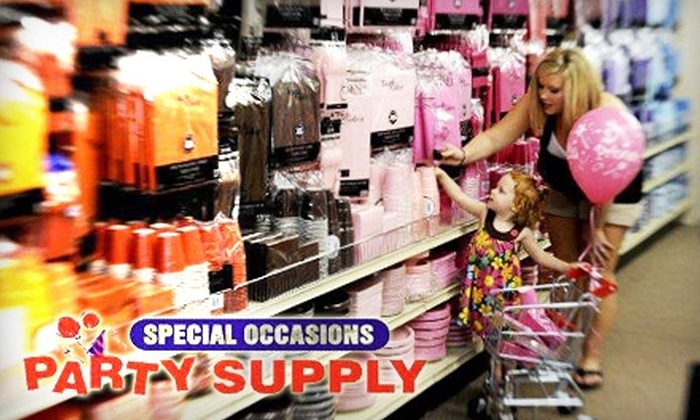 Special Occasions Party Supply - Kettering: $10 for $20 Worth of Balloons and Party Supplies at Special Occasions Party Supply