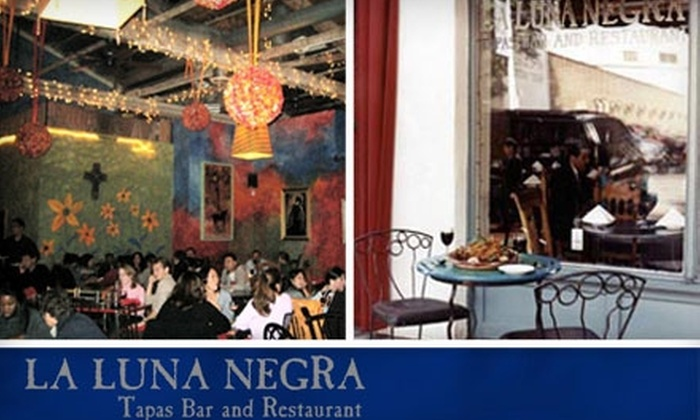La Luna Negra - Old Pasadena: $25 for $50 Worth of Tapas and Traditional Spanish Fare at La Luna Negra in Pasadena