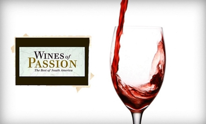 """Wines of Passion International: $17 for the Book """"Wines of Passion: The Best of South America"""" by Frank Reider ($34.99 Total Value)"""