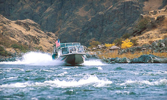 Beamers Hells Canyon Tours - Clarkston: $99 for a Full-Day Jet-Boat Adventure from Beamers Hells Canyon Tours ($193.37 Value)