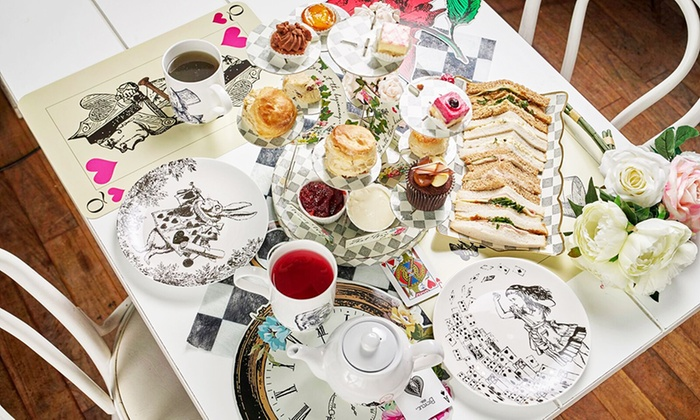 Mad Hatters Tea Party To A Tea Groupon