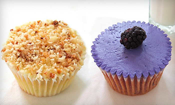 Sara Sara Cupcakes - Edmond: $21 for One-Dozen Artisanal Cupcakes at Sara Sara Cupcakes in Edmond ($42.27 Value)