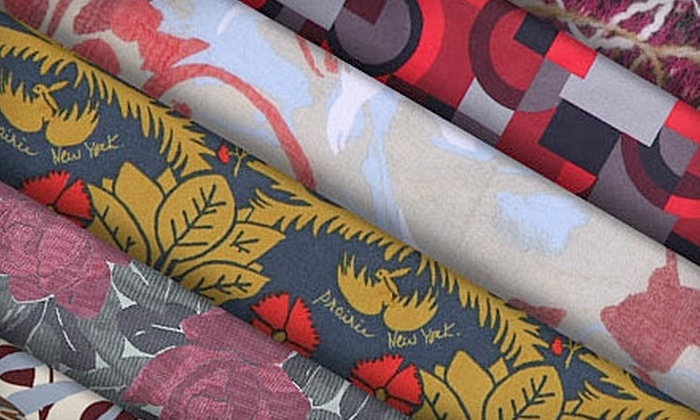 Mood Designer Fabrics: $15 for $30 Worth of Home and Designer Fabrics from Mood Designer Fabrics