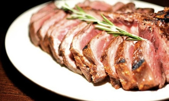 Hamilton & Ward Steakhouse - Downtown Paterson: $40 for $80 Worth of Steak, Seafood, and More at Hamilton & Ward Steakhouse in Paterson
