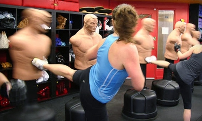 Judy's Group Fitness Inc. - Clanton Park: $45 for 10 Cardio Kick Boxing Classes to Judy's Group Fitness Inc. ($195 Value)