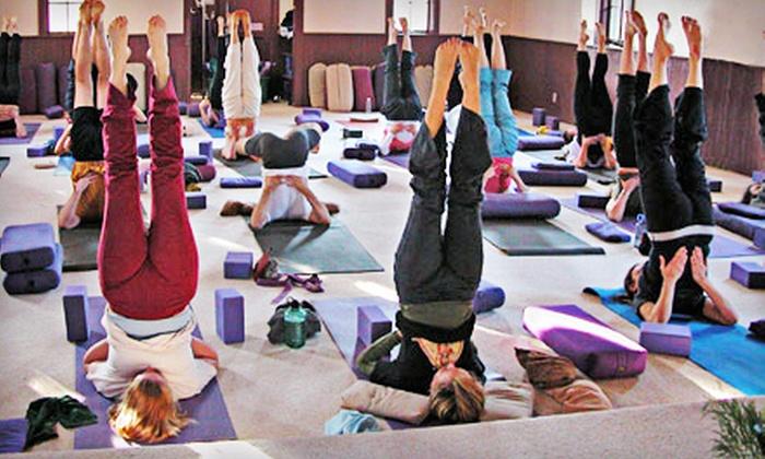 TriYoga Center Santa Cruz - TriYoga Center Santa Cruz: 10 or 20 Classes at TriYoga Center of Santa Cruz (Up to 81% Off)