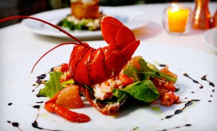4-Course French Dinner for 2 Valid Sunday-Thursday - Gemmell's Restaurant in Dana Point