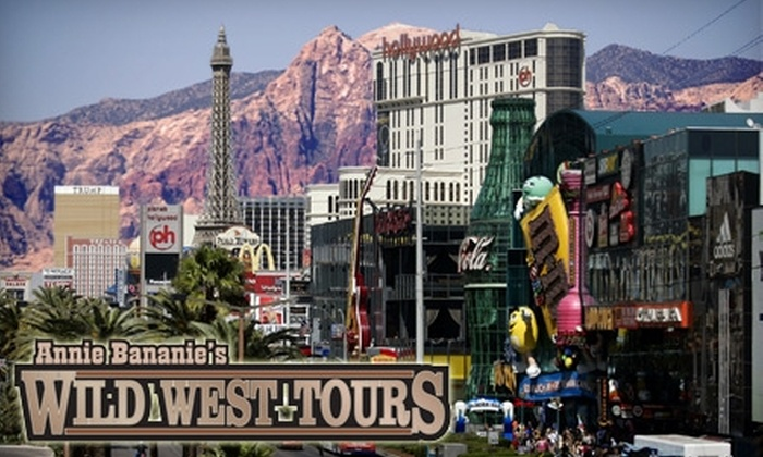 Annie Bananie's Wild West Tours - Las Vegas: $49 for the Red Rock Canyon/City Highlights Tour at Annie Bananie's Wild West Tours (Up To $99 Value)