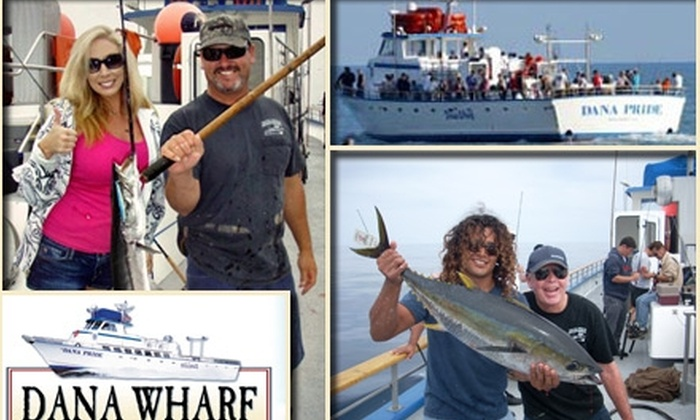 Dana Wharf Sportfishing - Dana Point: $29 for a Half-Day Fishing Trip at Dana Wharf Sportfishing (Up to $60.50 Value)