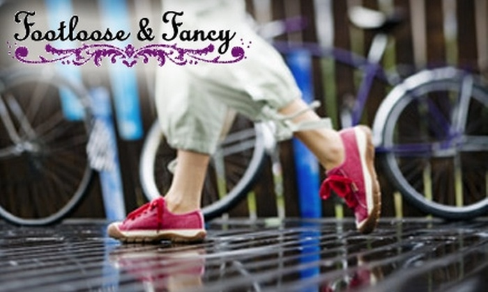 Footloose & Fancy - Multiple Locations: $40 for $80 Worth of Shoes and More at Footloose & Fancy