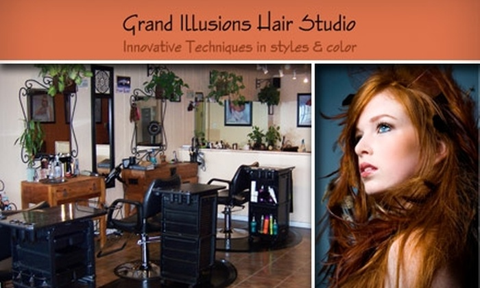 Grand Illusions Hair Studio - El Segundo: $50 for $100 Worth of Stylish Hair Services at Grand Illusions Hair Studio