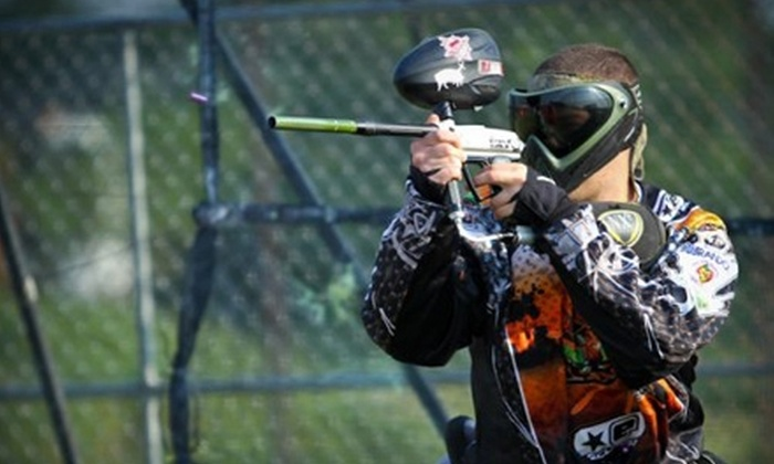 Obnoxious Paintball - North Bellmore: $30 for Admission, Gun Rental, and 500 Paintballs at Obnoxious Paintball