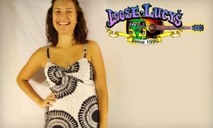 Loose Lucy's - Multiple Locations: $10 for $20 Worth of Clothes, Tapestries, and Posters at Loose Lucy's