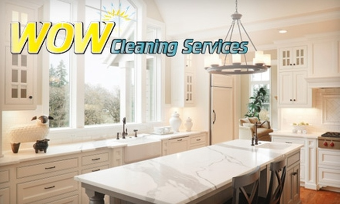 WOW Cleaning Services - Reno: $39 for Two Hours of House Cleaning from WOW Cleaning Services ($78 Value)